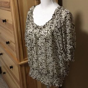 Patterned Michael Kors Blouse